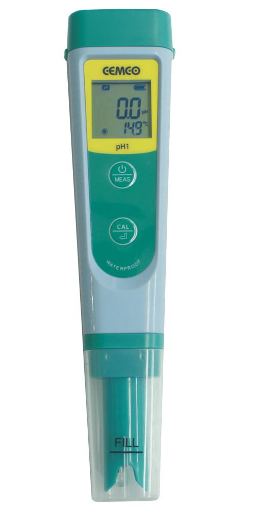 ペン型 ハンディ水質メーター pH 温度