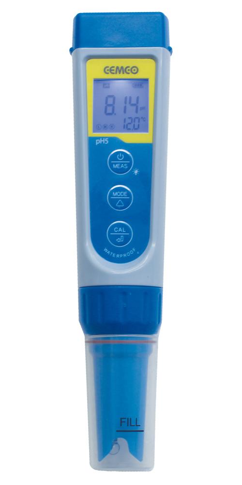 ペン型 ハンディ水質メーター pH ORP 温度