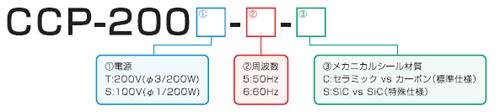 CCP型式説明